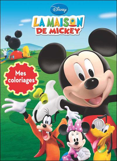 La maison de mickey mes coloriages broch disney livre tous les livres la fnac - Coloriage maison de mickey ...
