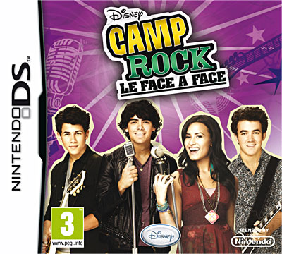 Camp Rock 2 : Le face à face - Nintendo DS