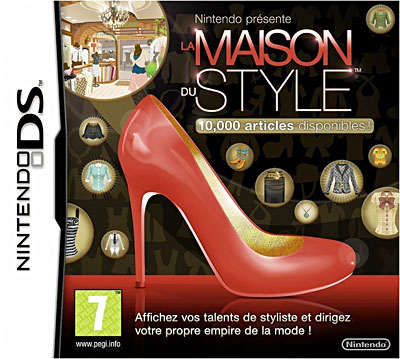 la maison du style sur nintendo ds jeux vid o achat. Black Bedroom Furniture Sets. Home Design Ideas
