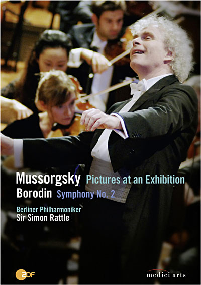 Oeuvres de Moussorgsky, Borodine et Chostakovitch