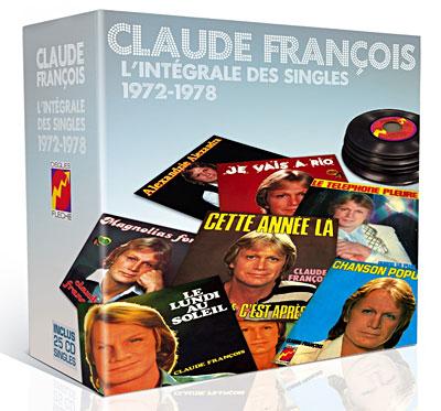 Singles 1972-1979 - Coffret de 25 CD 2 titres