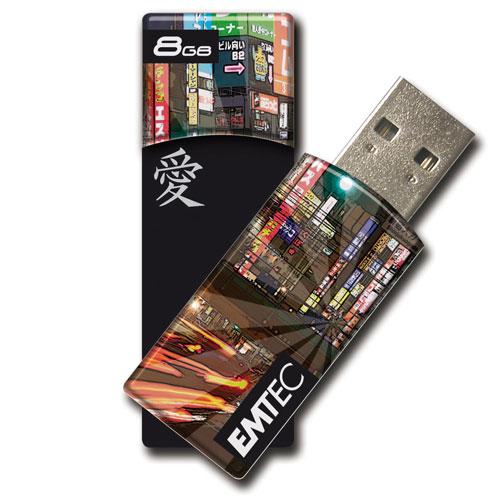Mémoire externe, 10 Mo/s en lecture et 5 Mo/s en écriture, compatible PC et Mac Interface USB 2.0
