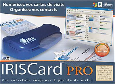 Scanner de cartes de visite, compatible PC et Mac Connexion sur port USB