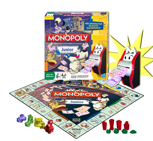 hasbro monopoly junior lectronique jeu de strat gie achat prix fnac. Black Bedroom Furniture Sets. Home Design Ideas