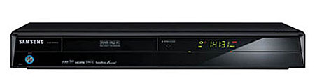 samsung dvd sh855 graveur de dvd enregistreur disque dur avec tuner tv num rique combin. Black Bedroom Furniture Sets. Home Design Ideas