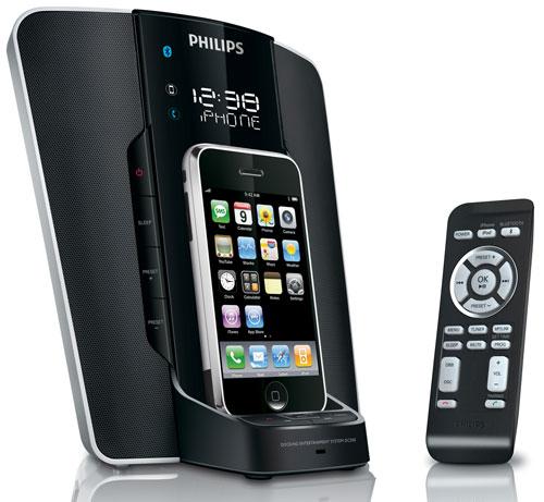 philips station d 39 accueil pour iphone et ipod accessoire pour t l phone mobile achat prix. Black Bedroom Furniture Sets. Home Design Ideas