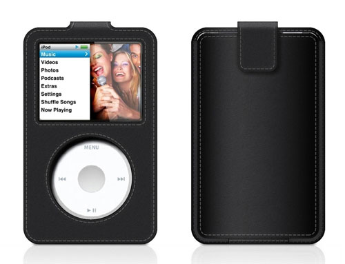 etui belkin sleeve cuir pour ipod classic ii accessoire. Black Bedroom Furniture Sets. Home Design Ideas
