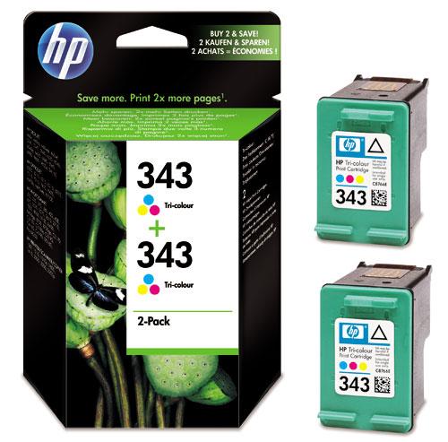 cartouche hp343 pour imprimante hp photosmart 325 375. Black Bedroom Furniture Sets. Home Design Ideas