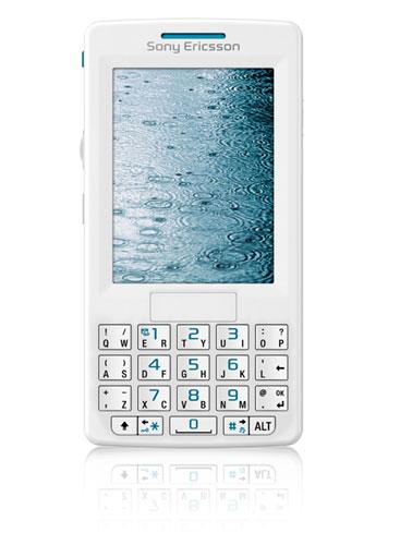 Téléphone tri-bande, GPRS, UMTS (3G), écran 262 144 couleurs, Bluetooth, lecture vidéo, lecteur MP3 Mémoire interne : 80 Mo, emplacement pour carte Memory Stick Micro (M2)