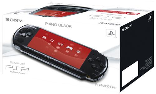 Console PSP  Slim et Lite noire Sony a w