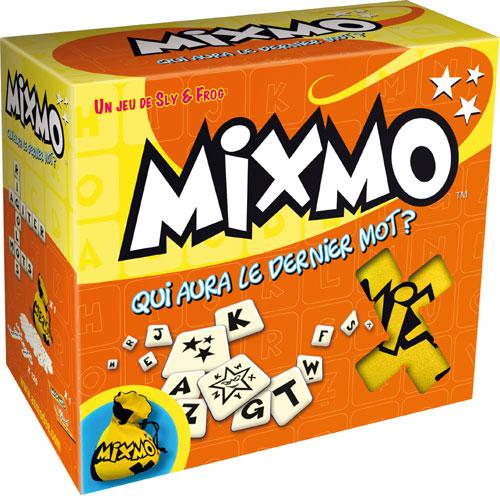 Mixmo Disputez une course endiablée dans laquelle chaque joueur construit sa propre grille de mots. Rivalisez d´ingéniosité pour être le premier à placer toutes vos lettres et crier « MIXMO ! ». À ce signal, tous les joueurs piochent de nouveaux jetons. L