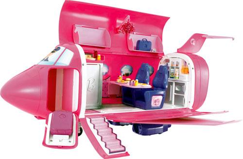 Jet Privato Barbie : Mattel jet glamour barbie accessoire poupée achat