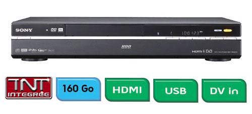 sony rdr hxd890b combin lecteur enregistreur dvd disque dur top prix sur. Black Bedroom Furniture Sets. Home Design Ideas