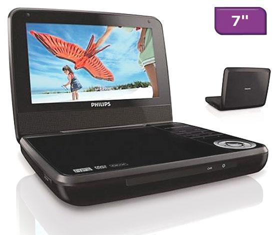 philips pd7000b noir lecteur dvd portable achat prix fnac. Black Bedroom Furniture Sets. Home Design Ideas
