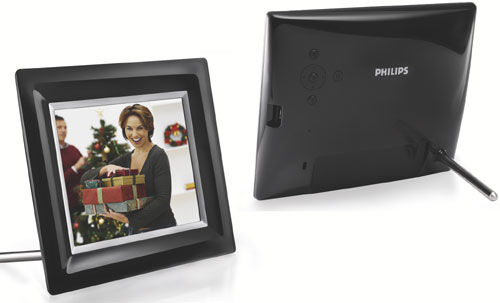 Philips cadre num rique 8 8ff3fpb noir cadre 8 pouces - Cadre photo numerique 20 pouces ...