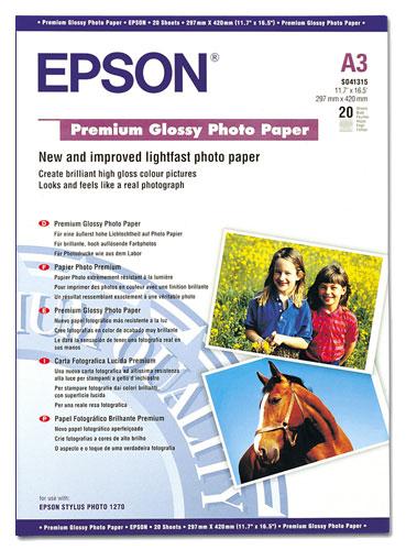 Papier Photo A3 Epson S041315