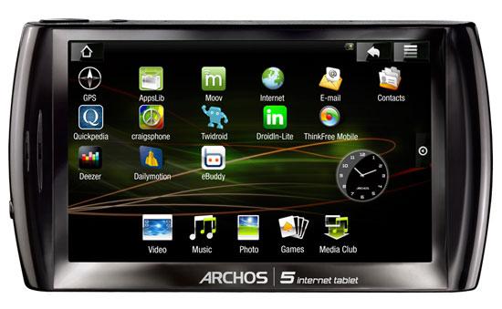 Archos  Internet Tablet Go a w