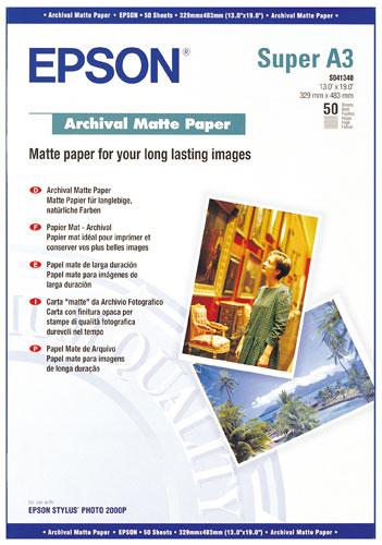 Papier Photo A3+ Epson S041340