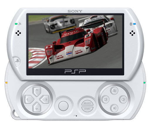 Console PSP Go blanche Sony a w
