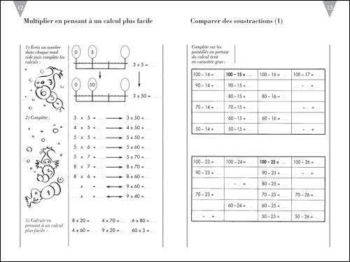 Télécharger calcul ce1 PDF | progression nombres et calcul PDF | Exercices-PDF.com