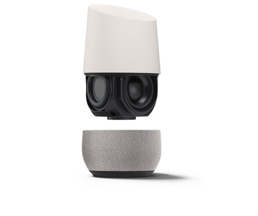google home enceinte commande vocale mini enceinte achat prix fnac. Black Bedroom Furniture Sets. Home Design Ideas