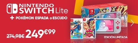 Nintendo Switch Lite + Pokemon