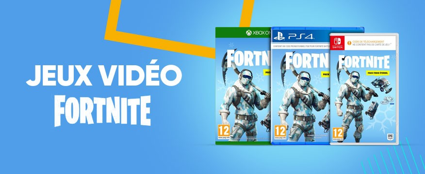 Fortnite Idees Jeux Jouets Black Friday Fnac