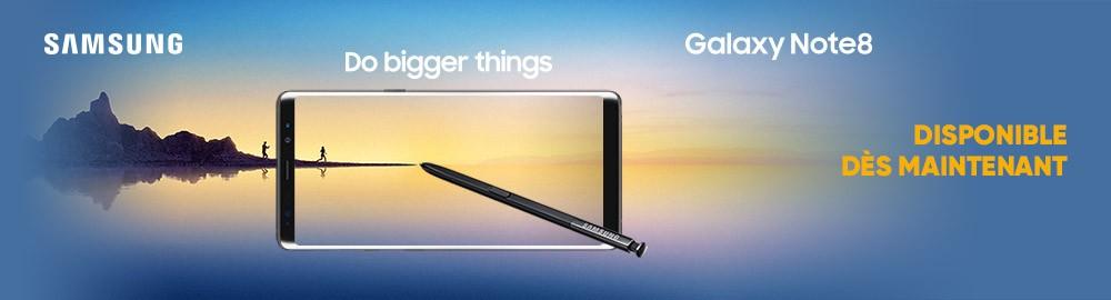 """Samsung revient avec le tout nouveau Galaxy Note8 qui corrige les défauts  de son ainé. Faites les choses en grand avec son écran Infinity 6,3""""  incurvé et ... a98eb26cadb"""