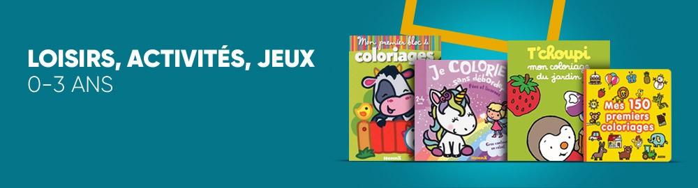Loisirs Activites Jeux 0 3 Ans Idee Et Prix Livre Jeunesse Achat Livre Fnac