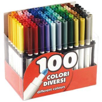 5 Sur Feutre Coloriage Pointe Large Presentoir De 100 Crayon De Couleur Achat Prix Fnac