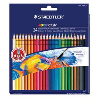 Staedtler Noris Couleur Crayons avec gratuit 1 STAEDTLER Crayon /& Effaceur Packs de 12