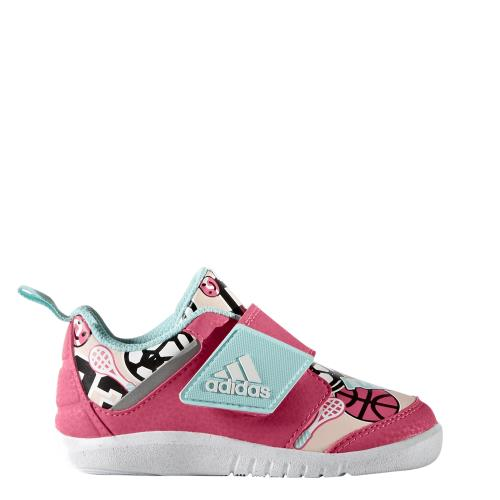 Adidas Chaussures bébé adidas FortaPlay roseblancrose
