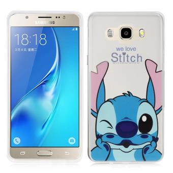 Coque silicone TPU Transparente Ultra-Fine Dessin animé jolie pour Samsung Galaxy J5 (2016) J510FN - Stitch