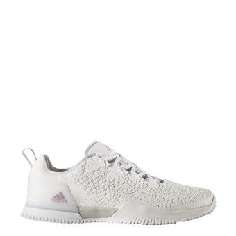 Adidas - Chaussures femme adidas CrazyPower Trainer - blanc/gris clair/noir  - Achat & prix | fnac