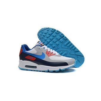 Nouvelles Arrivées bd3dd 863f3 NIKE Baskets Air Max 90 Sports Running Chaussures bleu et ...