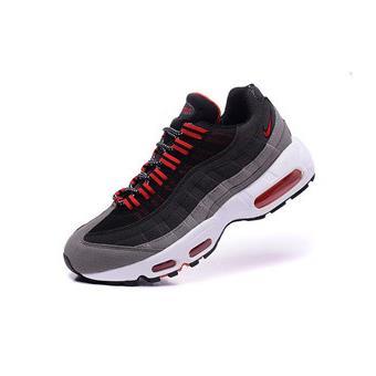 hot sale online e99d3 0124e Homme Nike Air max 95 Baskets Chaussures de Sports Noir et rouge Taille 40  - Chaussures et chaussons de sport - Achat   prix   fnac