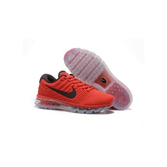 HommeChaussures 2017 Nike Max Baskets De Air Homme Rouge Running kPXiuOZ