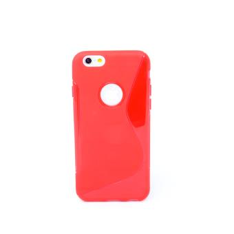 coque silicone rouge iphone 6