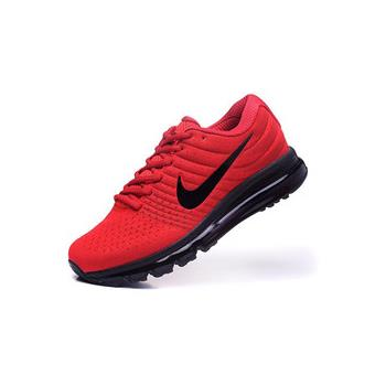 Baskets Nike Air Max 2017 Homme, Chaussures de Running homme rouge et noir Taille 44 - Chaussures et chaussons de sport - Achat & prix | fnac
