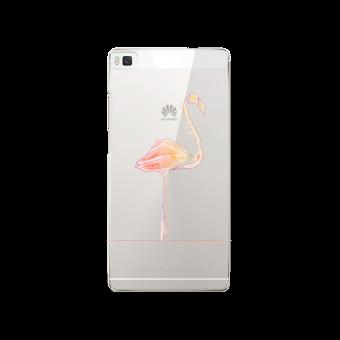 coque huawei p8 lite flamant rose