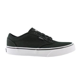De Chaussures Atwood Chaussons Et Canvas Black Kids White Vans 08XdxwX