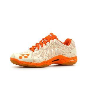 Chaussures de Badminton Yonex Power Cushion Aerus Orange Pointure 37 Adulte Femme