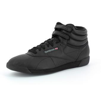 37 Adulte Femme Hi Chaussures Et Noir Reebok Freestyle FqMXwAYFt