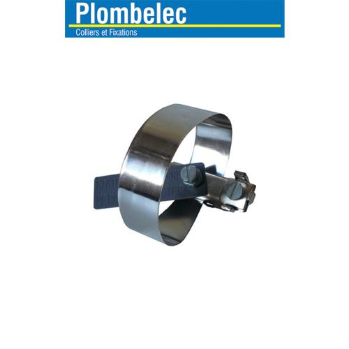 Plombelec - Collier Équipotentiel 190 mm inox