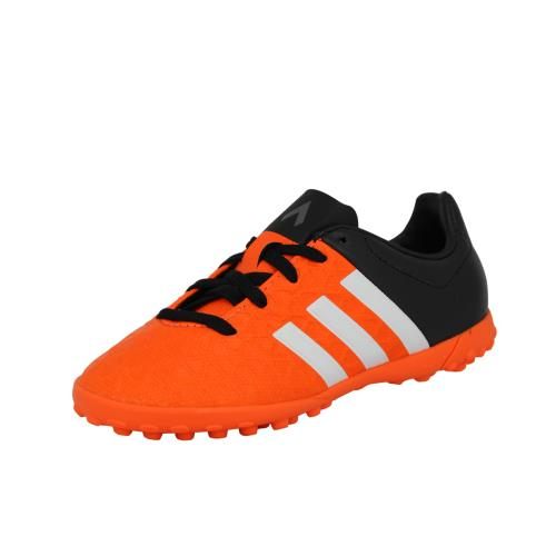 Adidas performance ace 15.4 tf j <strong>chaussures</strong> de football enfant noir orange