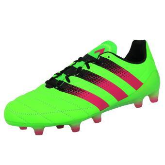 official photos 3b472 30bff Adidas Performance ACE 16.1 FGAG LEAT Chaussures de Football Homme Cuir  Vert - Chaussures et chaussons de sport - Achat  prix  fnac