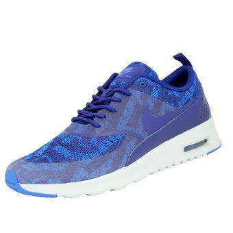 le dernier 4ed2c ab74c Nike AIR MAX THEA KJCRD Chaussures Sneakers Mode Femme Bleu