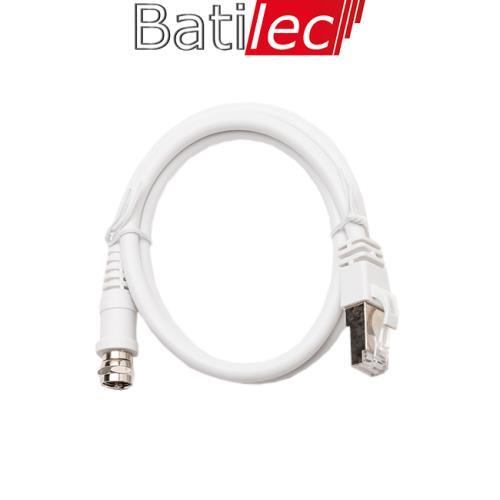 Batilec - Cordon de liaison Fiche F / RJ45 0.7 mètres Grade 3