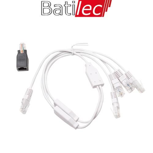 Batilec - Cordon quadruple Téléphone / RJ45