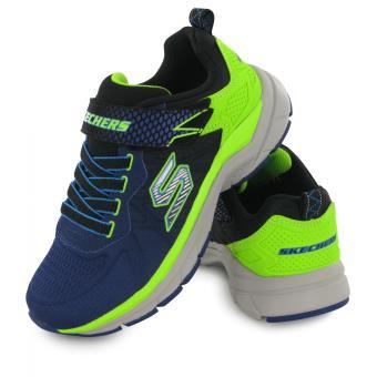 Skechers Ultrasonix Bleu, baskets mode enfant Chaussures